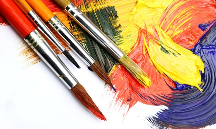 Two-Hour Painting Classes for One or Two at Wine & Design Mesa (Up to 50% Off)