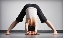 5 or 10 Yoga Classes at Choose Again Yoga (Up to 63% Off)