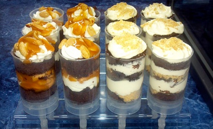 One Dozen or Two Dozen Custom Cake Push-Pops at Panther Grill (Half Off)