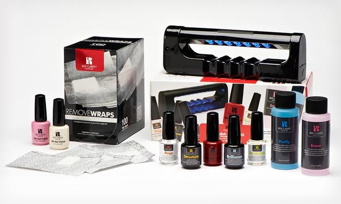 Red Carpet Complete Gel Manicure Kit | Groupon