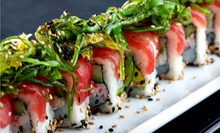Two-Course Prix Fixe Dinner for Two or $15 for $30 Worth of Asian Cuisine at OM Modern Asian Kitchen and Sushi Bar