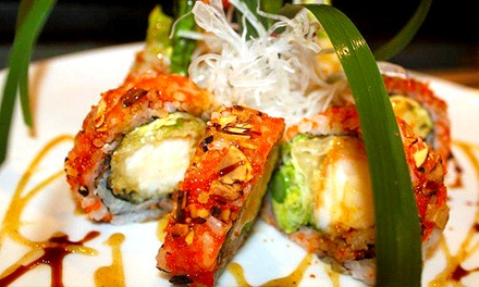 $12 for $25 Worth of Sushi and Japanese Entrees for Dinner at Mikado Japanese Cuisine