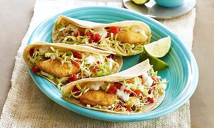One or Two Groupons, Each Good for $20 Worth of Mexican Food at Taco Del Mar (40% Off). Seven Locations.