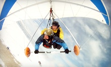Paragliding or Hang Gliding for One or Two from Eagles Nest Hang Gliding &amp; Paragliding (Up to 55% Off)
