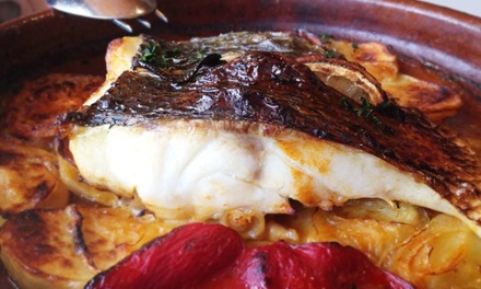 Tapas, Dessert, and Sangria for Two or Four at Pepin Restaurante Español (52% Off)