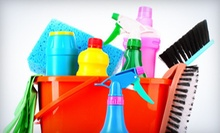 One or Three Two-Hour Housecleaning Sessions from Crystal Clear Janitorial & Cleaning (Up to 69% Off)