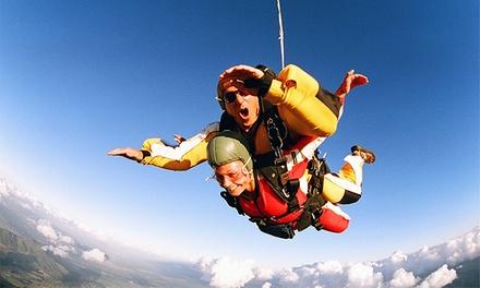 Skydive Porto: vale de desconto para um ou dois saltos Tandem desde 19,90€