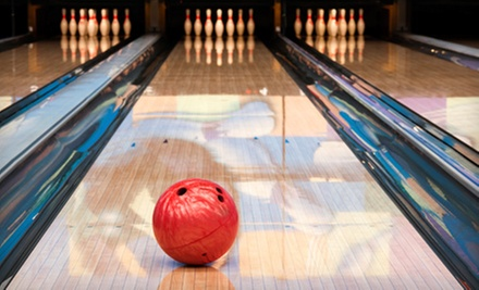 $26 for Two Hours of Bowling, Laser Tag, and Mini-Golf for Up to Six at Superplay USA (Up to $128 Value)