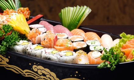 Sushi Cuisine for Two or Four, or $32 for $50 Worth of Carryout at Sushi Nami