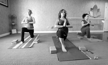 10 or 20 Yoga or Meditation Classes at Just Breathe Wellness Center (67% Off)