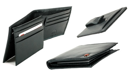 Alpine Swiss Men's Leather Wallets