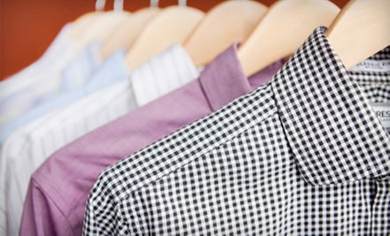 Dry Cleaning of 5 Pants or Laundry for 10 Shirts, or $40 Worth of Dry Cleaning at The Cleanery 