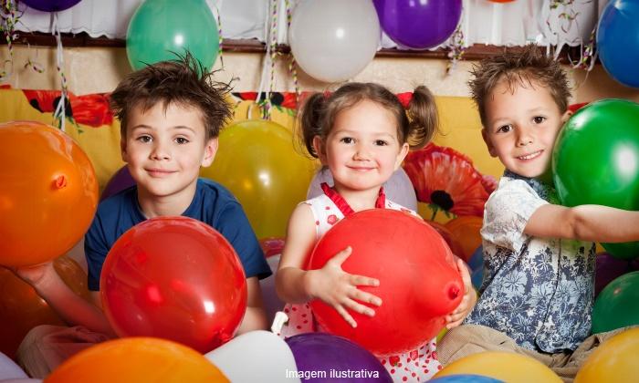 Casa de Festas Charles Mayk - Rio de Janeiro: Casa de Festas Charles Mayk – Irajá: festa infantil completa para 100 pessoas, a partir de 12x sem juros de R$ 208,25
