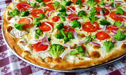 Gourmet Pizza and Italian Food for Two or Four at Napoli's Brick Oven Pizza (Up to33% Off)