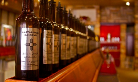 $15 for $30 Worth of Olive Oils, Vinegars, and Foodie Gifts at Sante Fe Olive Oil & Balsamic Co.