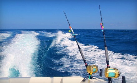 $289 for a Four-Hour, All-Inclusive Fishing Trip for Up to Three People from Rennegade Fishing Charters ($595 Value)