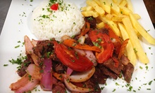 Peruvian Cuisine for Two or Four at El Huarike Peruano (Half Off)