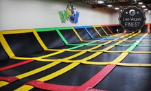 Two or Four Open-Jump Play Times at FLIPnOUT (Up to 53% Off)