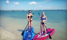 Three-Hour Single- or Double-Kayak Rental or Paddleboard Rental from Lotto Boat (60% Off)
