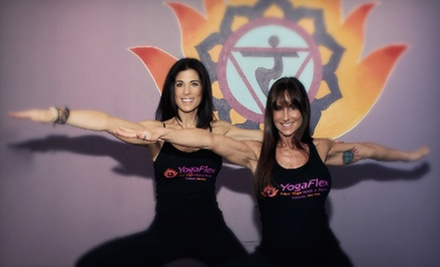 $59 for 10 Hot-Yoga Classes at YogaFlex in Commack ($160 Value)