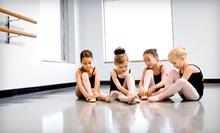 5 or 10 Kids' Group Dance Lessons at TuTu Barre (52% Off)