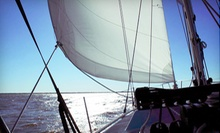 Three-Hour Weekend Sunset Sail for Two or Four from All Points of Sail Sailing School (53% Off)