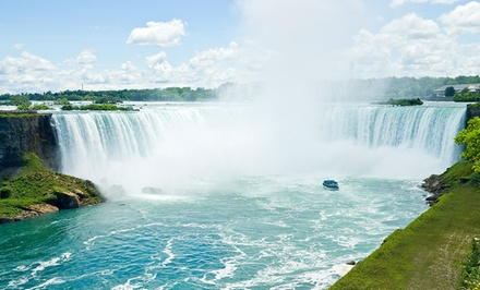 groupon daily deal - Stay at Quality Inn & Suites in Niagara Falls, ON. Dates into June.