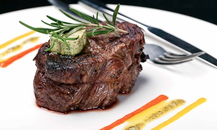 American Steak and Seafood for Up to Two or Four People at Parea (Up to 31% Off)