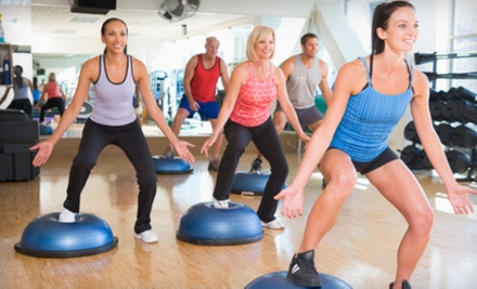 Fitness Consultation with Five Classes or One Month of Unlimited Classes at Passion 4 Fitness (Up to 62% Off)