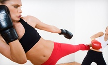 4 or 10 Kickboxing or MMA Classes with One Private Lesson and Boxing Gloves at Westchester Fight Club (85% Off)