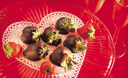One Half-Dozen or One Dozen Chocolate-Covered Strawberries at Trifles (Up to 57% Off)