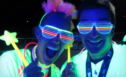 $29 for Ready, Set, Glow 5K and Food Festival on Saturday, August 17, from Healthy Races ($60 Value)