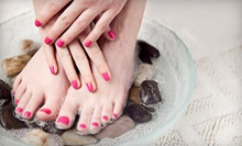 $45 for a Spa Mani-Pedi at Merle Norman Cosmetics and Day Spa ($95 Value)