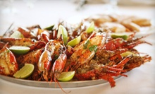 Cajun Food at Gators Bayou (Half Off). Two Options Available.