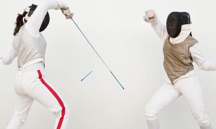 4- or 8-Week Intro-Class Package or 5-Day Summer Camp for One or Two at National Fencing-NFA (Up to 75% Off)