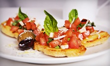 Italian Food for Lunch or Dinner at Bella's Ristorante (Half Off)