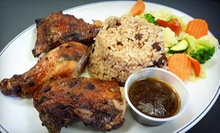 $10 for $20 Worth of Jamaican Cuisine for Two at Taste of the Islands