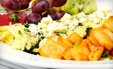 Weekday or Weekend American Breakfast at Pita Palace (Up to 58% Off)