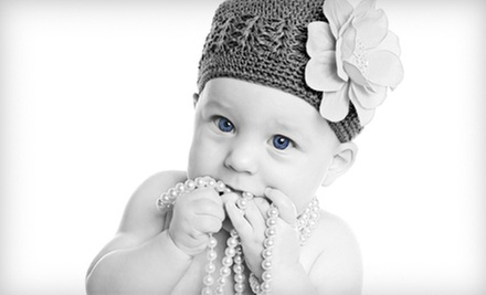 $49 for a 60-Minute Studio Photo Shoot with 14 Prints at Premier Photography ($190.40 Value)