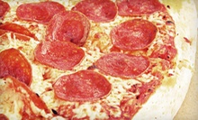 12-Inch Pizza and Six Drinks or $10 for $20 Worth of Pizza and Drinks at The Rush