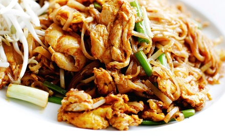 Thai Cuisine at Potjanee Authentic Thai Restaurant (Up to 45% Off). Two Options Available.