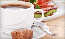 Breakfast or Lunch for Two or Four at Cafe Creme Coffee Shop and Bakery (Up to 54% Off)