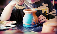 $10 for $20 Worth of Pottery Painting at Pottery Hollow