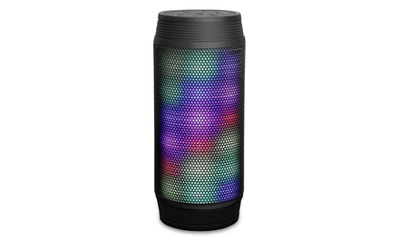 RevJams Discotek Portable Wireless Bluetooth Speaker with LED Lights