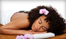 $87 for Spa Package with Hot-Stone Massage and European Facial at Tease Inc. Salon and Spa ($175 Value)