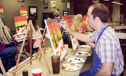Two- or Three-Hour BYOB Painting Class for One or Two at Vino Artino (Up to 54% Off)