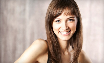Haircut and Conditioning with Options for Color or Partial or Full Highlights at Hair Designs by Donna (Up to 63% Off)