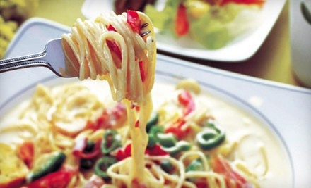 $10 for $20 Worth of Italian Dinner Cuisine at Cafe Pasta