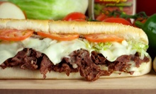 $15 for Three $10 Vouchers toward Submarine Sandwiches at Tubbys ($30 Value)