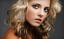 Conditioning, Haircut, and Blow-Dry with Optional Partial or Full Highlights at M Studio Hair Salon (Up to 64% Off)